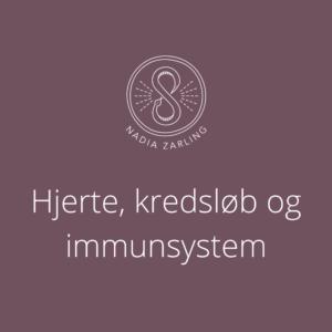 Hjerte, kredsløb og immunsystem
